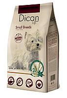 Корм DICAN UP SMALL BREEDS (Дикан ап смол бридс) для взрослых собак мелких пород, 4 кг