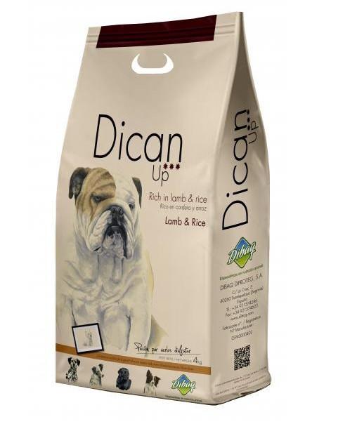 Сухий корм Dican Up Lamb&Rice (для дорослих собак усіх порід з яловичиною та ягням) 18кг