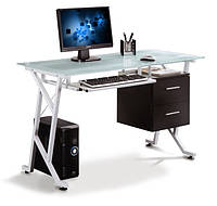 Компьютерный стол из стекла, МДФ - GF-103