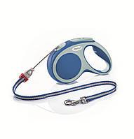 Flexi VARIO S 5м/12кг, трос - поводок-рулетка для собак