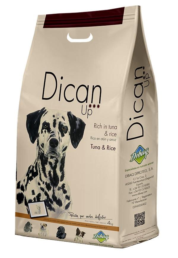 Сухий корм Dican Up Tuna&Rice (для дорослих собак усіх порід з тунцем) 18кг