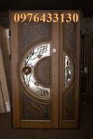 Двері патиновані