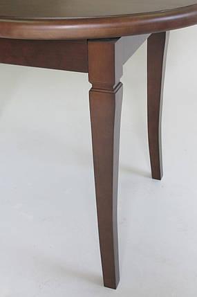 Стол Биформер Ла Рошель Ольха кухонный обеденный овальный раскладной, фото 2
