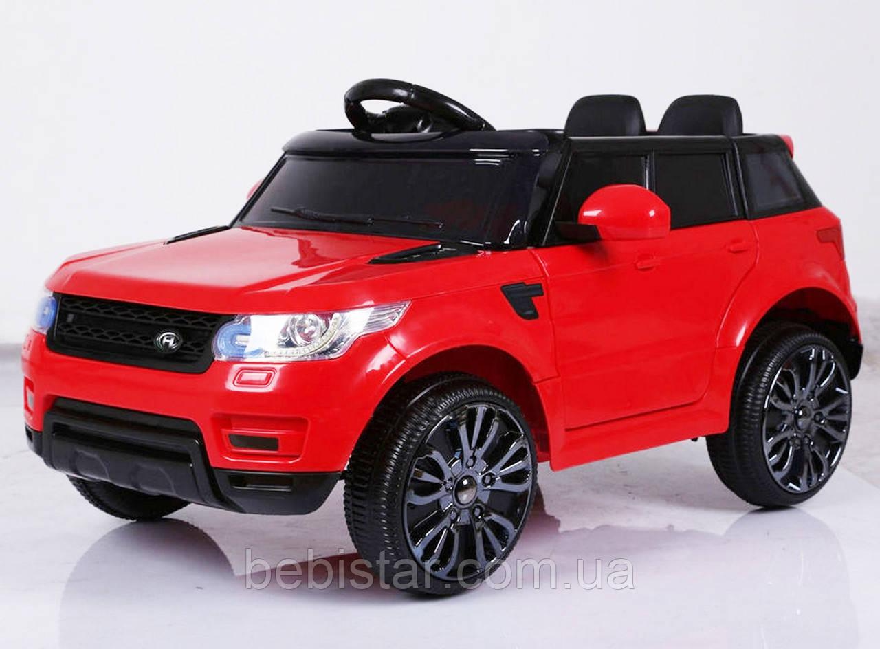 Детский электромобиль FL1638 (T-7815) EVA RED деткам 3-8 лет с пультом мотор 2*25W с МР3