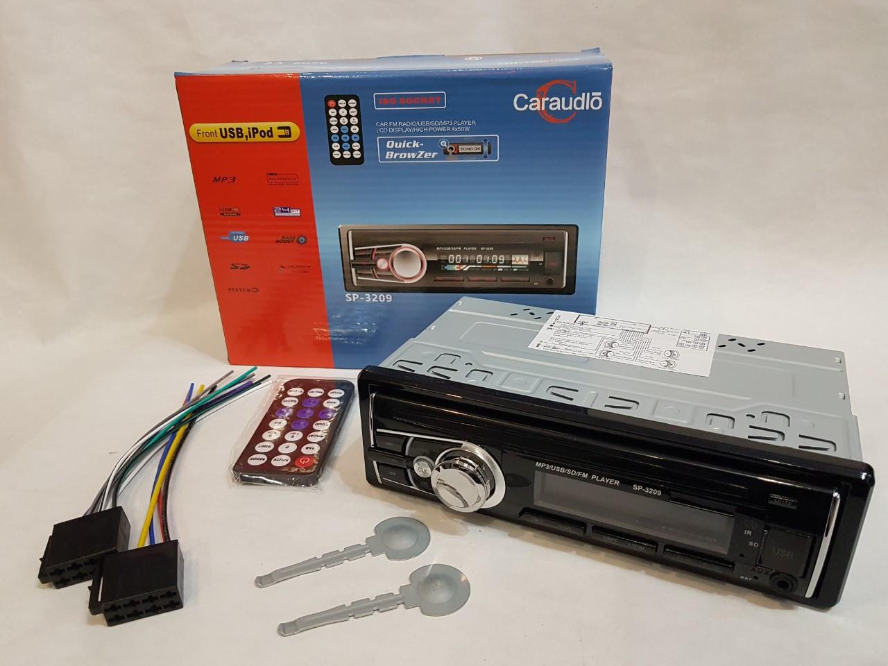 Стильная магнитола в машину Car Audio SP-5219 USB SD стандартный размер 1DIN популярная магнитола еврофишка