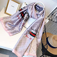 Шелковый шарф палантин в стиле Gucci НОВИНКА