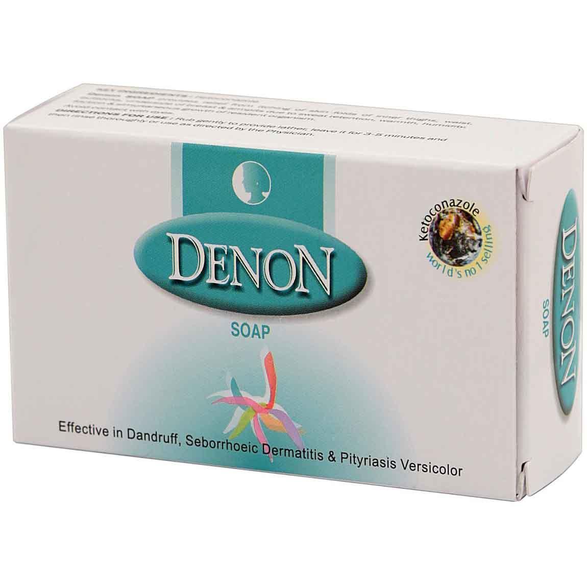 Лечебное мыло Denon против грибка, воспаления и зуда, 75 г
