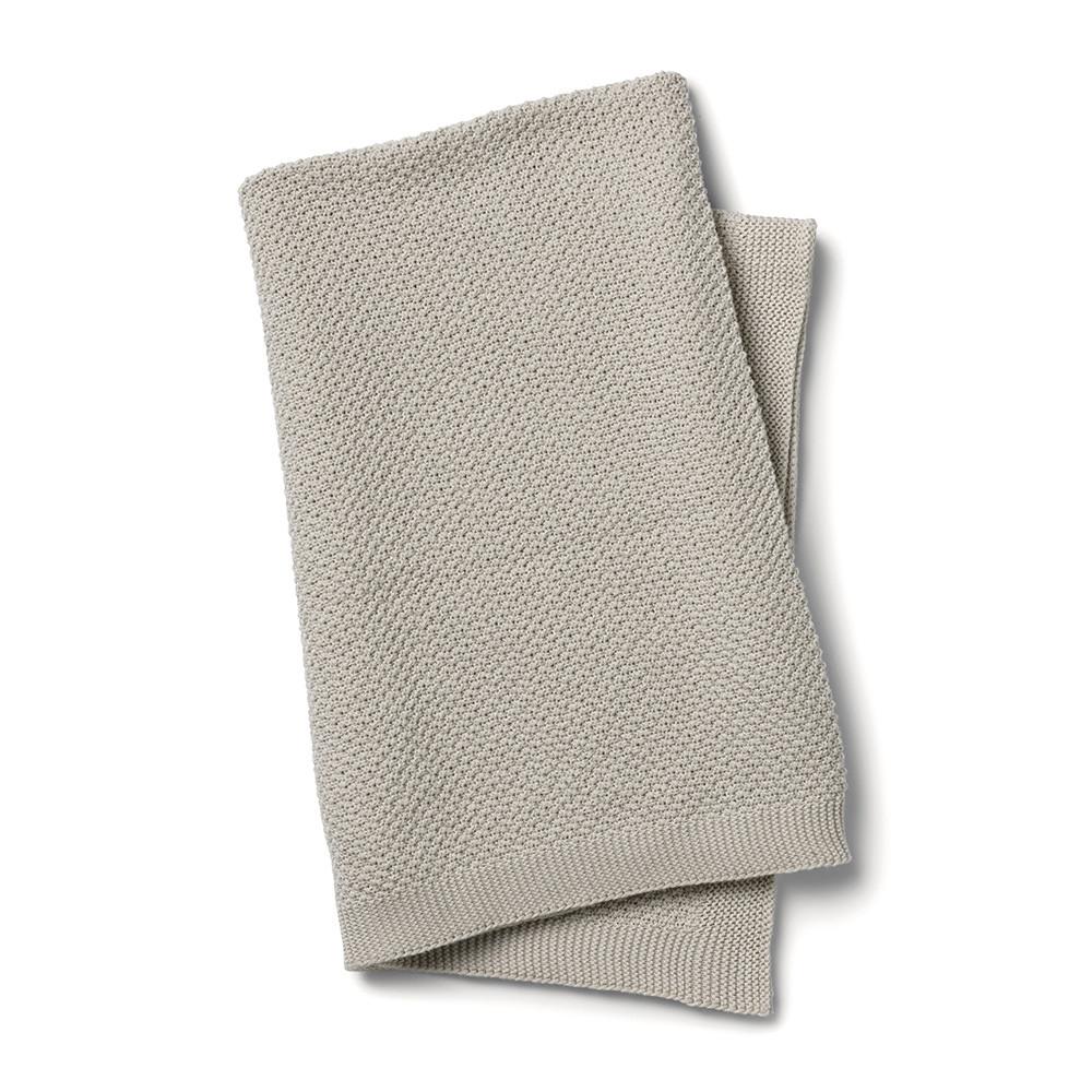 Elodie Details - Вязаное одеяло Oeko-Tex, Greige