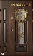 Двері вхідні металеві АКЦІЯ патиновані