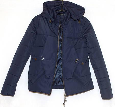 Молодежная куртка укороченная (весна-осень) 48, фото 3