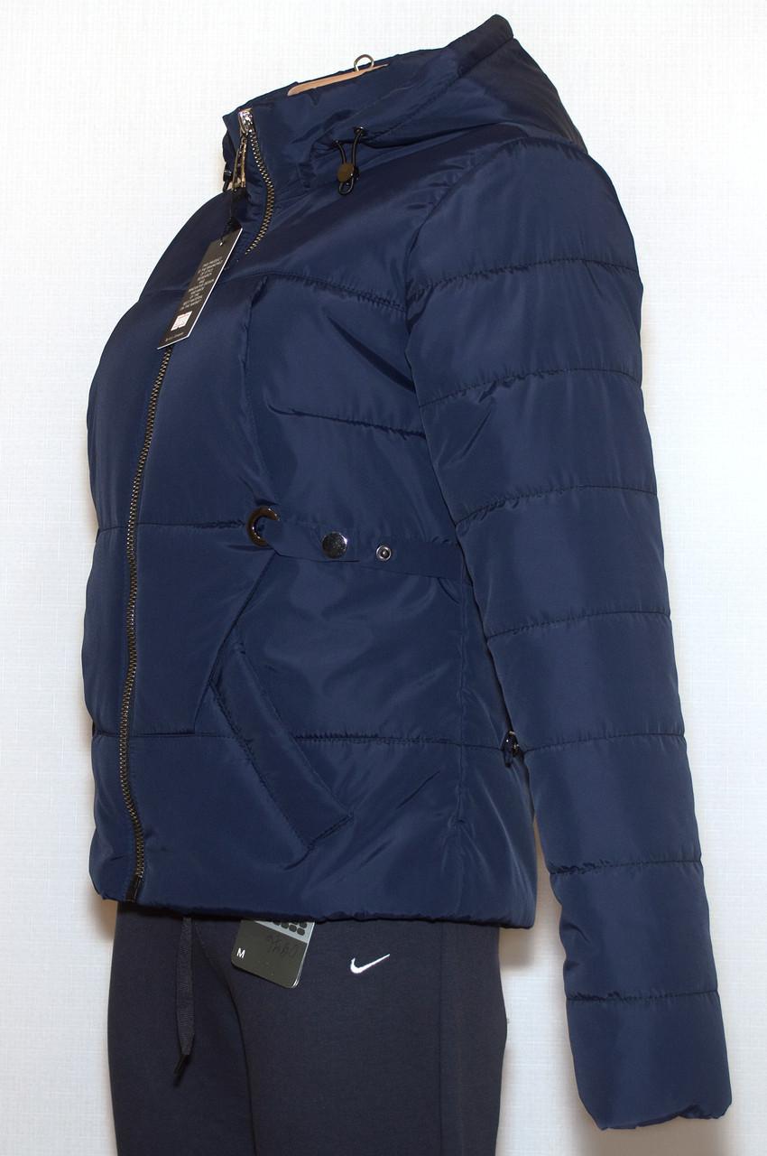 Молодежная куртка укороченная (весна-осень) 48