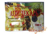Апилекарь (1 пак.х 100 г. на 1 пчелосемью) порошок