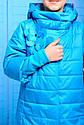 Куртка весенняя для девочки «Миледи», цвет голубой Размер 32, фото 2