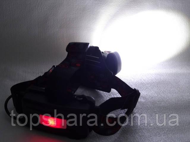 Налобный фонарь Bailong Police BL-C862-T6 158000W