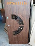 Двері вхідні склопакетом