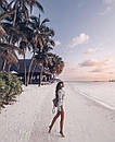 Пляжная туника из хлопкового кружева, фото 9