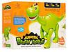Динозавр 801, размер30 см, ходит, звук, свет, подвижнаячелюсть и хвост