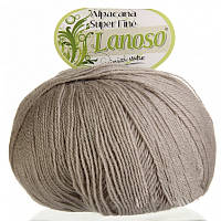 Lanoso Alpacana Super Fine молочно-бежевый № 995
