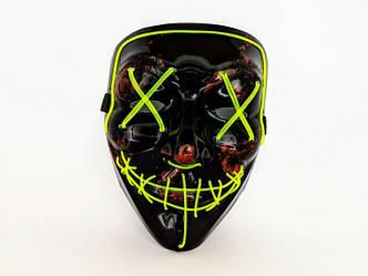 Неоновые маски Purge Mask Судная ночь