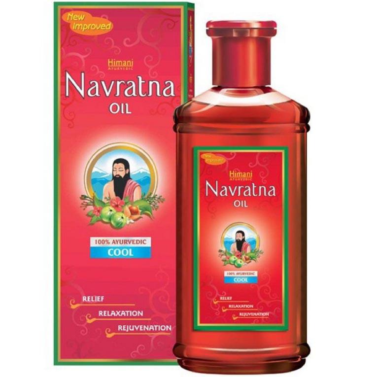 Navratna. Массажное масло для головы и тела, 100 мл