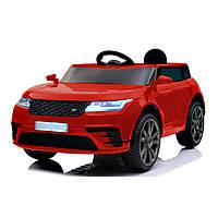 Детский электромобиль красный Джип колеса EVA с пультом мотор 2*20W длина 112см с МР3 детям 3-8 лет