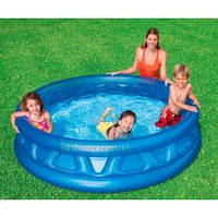 Надувной детский бассейн Intex 58431 Конус - Летающая тарелка (188х46см.)