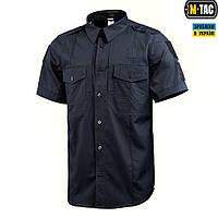 M-Tac рубашка с коротким рукавом Police Flex Dark Navy Blue