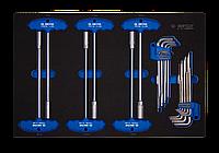 Набор инструмента 24 предмета HEX в EVA KING TONY 9-22124MRV50, фото 1