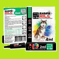 Капли от блох и клещей собакам весом от 10 кг до 20 кгАкарокил (АкароKILL) ЗооХелс