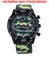Годинники чоловічі PINBO військові спортивні камуфляж хакі годинник купити