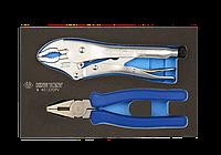 Набор инструмента комбинированный 2 предмета (EVA ложемент) KING TONY 9-40122GPV, фото 1