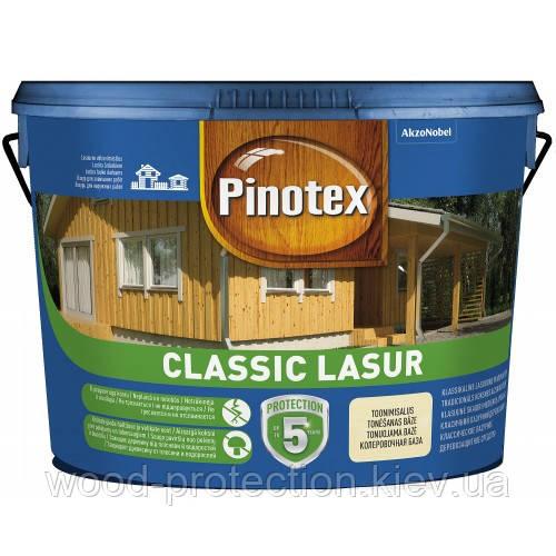 Декоративно-защитная пропитка Pinotex Classic Lasur (бесцветный) 10л
