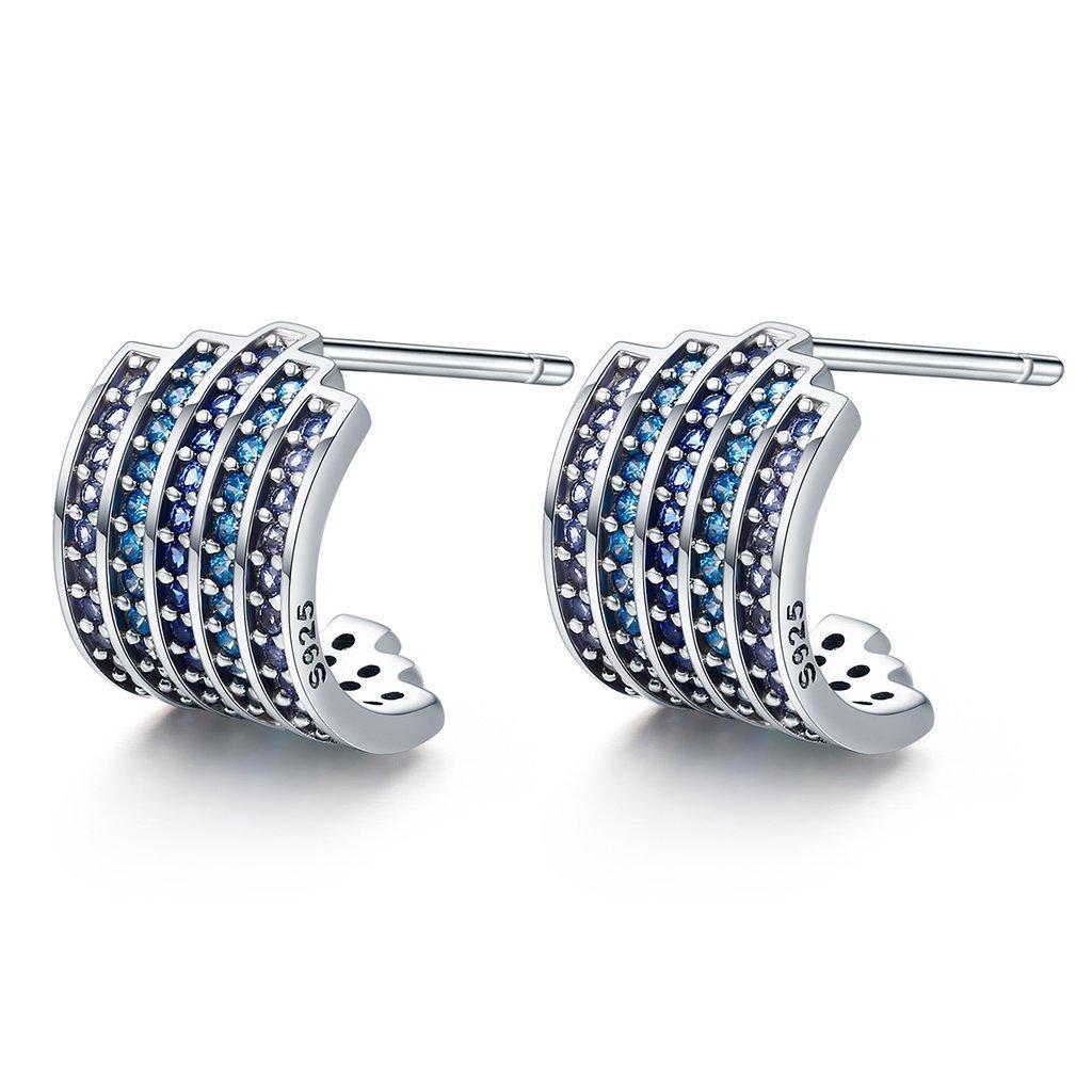 Серьги серебряные гвоздики