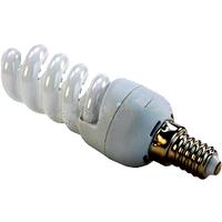 Лампа енергозберігаюча DELUX 220v 15w 4100K E14 SlimSemi-spiral