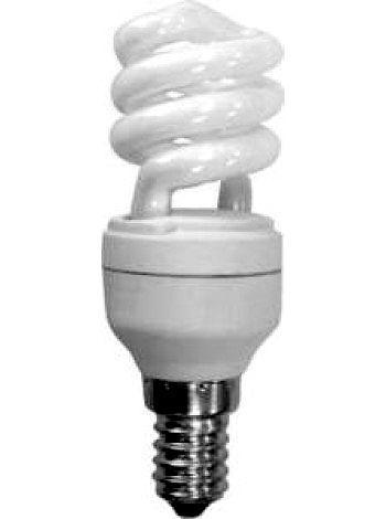 Лампа энергосберегающая DELUX 220v 13w 2700K E14 T2 Mini Twist