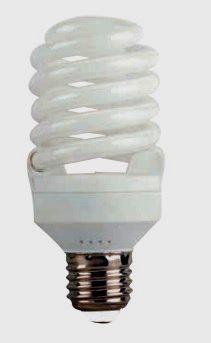 Лампа энергосберегающая EUROLAMP 30w T2S 4100K  E27