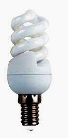 Лампа енергозберігаюча ULTRALIGHT 15w 2700K E14