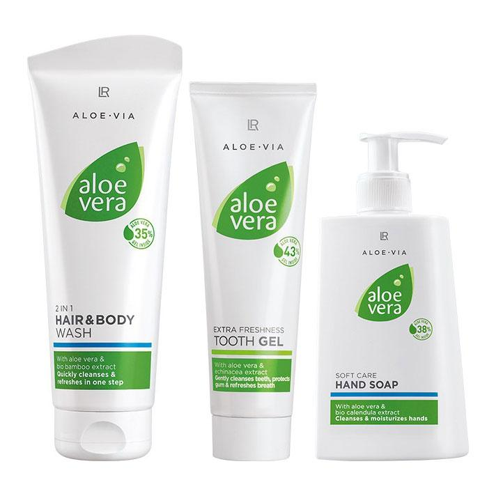 Набор для ежедневного уходаLR Health & Beauty Aloe Via Aloe Vera
