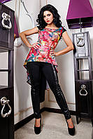 Костюм женский туника и брюки, фото 1