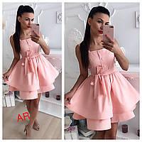 fc098bef2ca Женское платье из сатина (фабричный Китай ) Код В606-1626