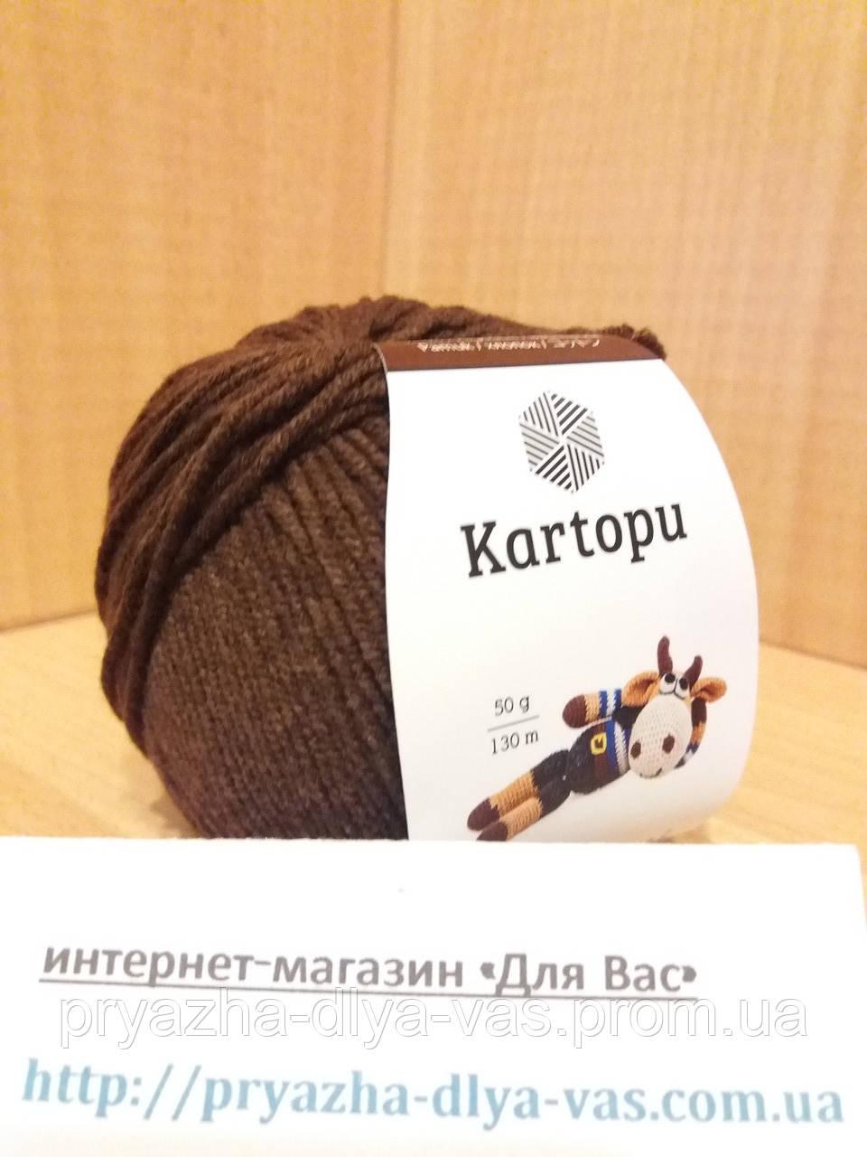 Летняя пряжа (49%-хлопок, 51%- акрил; 50г/ 130м) Kartopu Amigurumi K890