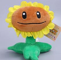 Подсолнух Оригинальная плюшевая игрушка Растения против зомби из игры Plants vs Zombies