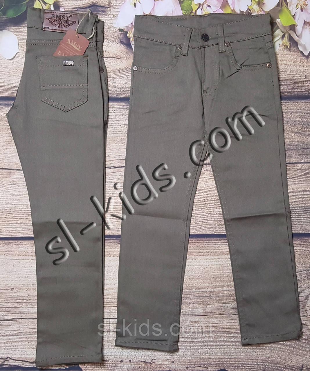 Яскраві штани для хлопчика 7-11 років(роздр) (бежеві) пр. Туреччина