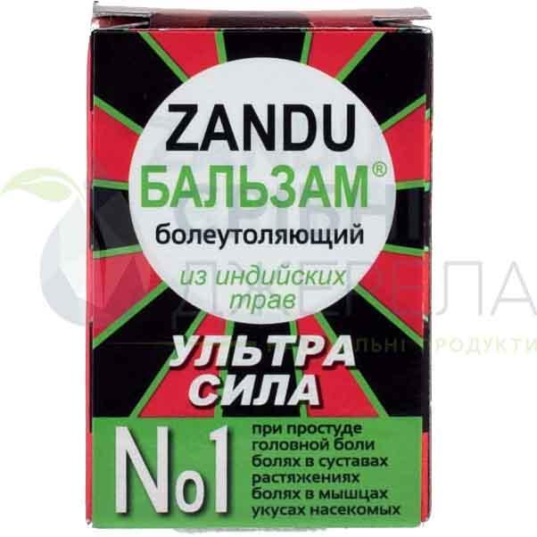 Болеутоляющий бальзам Zandu, 8 мл