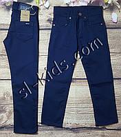 Яркие штаны для мальчика 7-11 лет(розн) (синие) пр.Турция