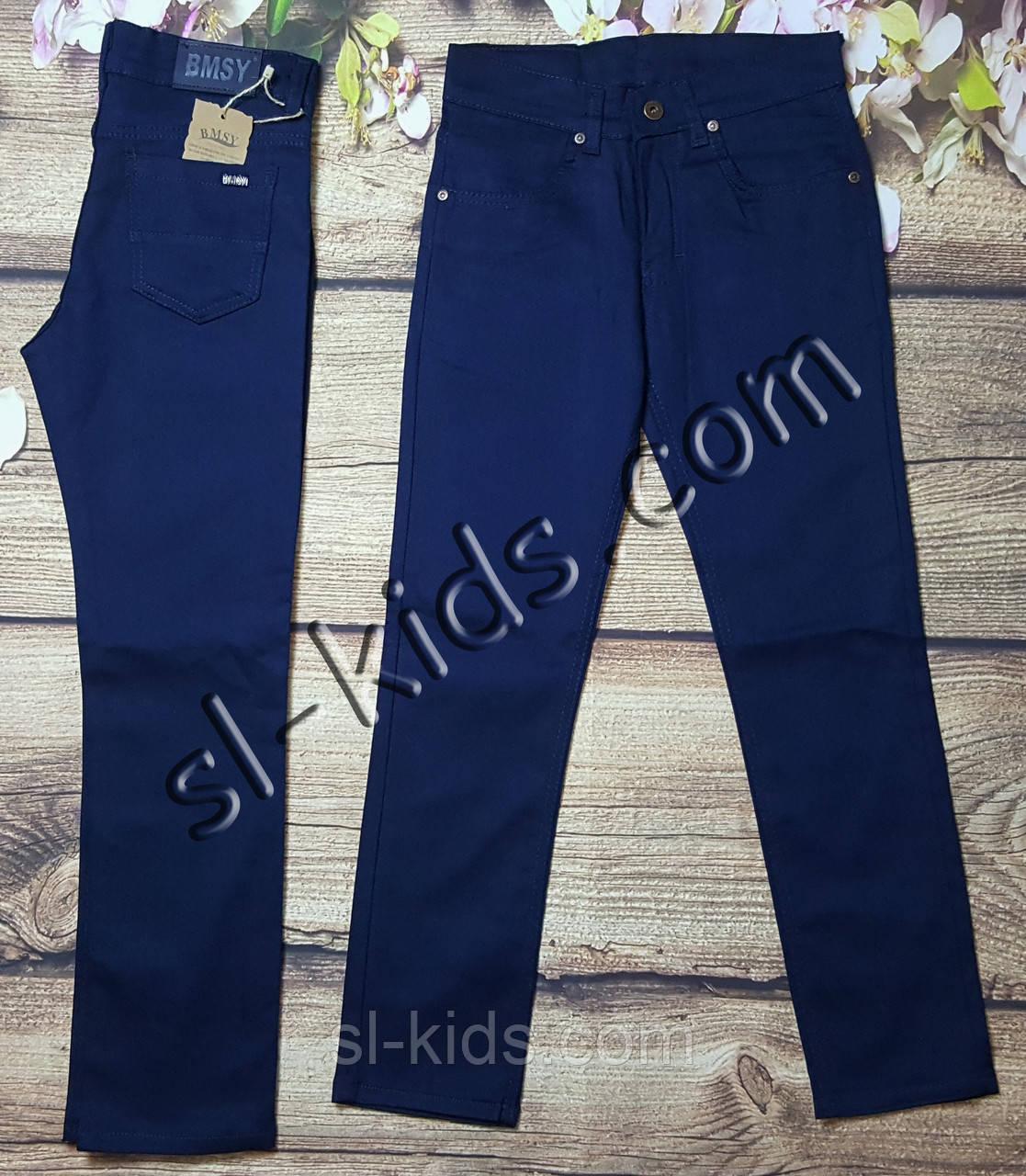 Яркие штаны для мальчика 12-16 лет(розн) (синие) пр.Турция