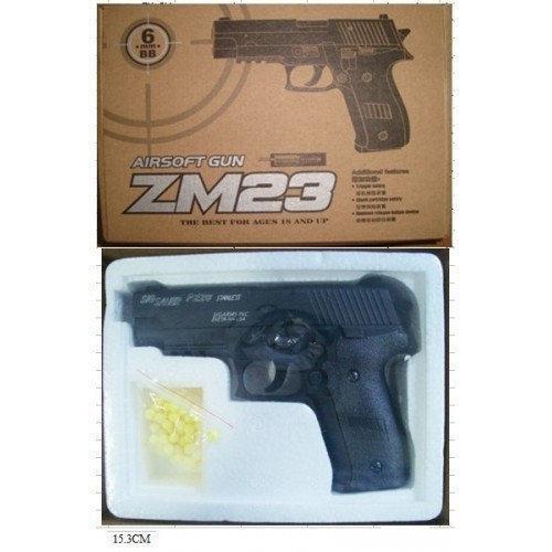 Игрушечный металлический пистолет ZM23