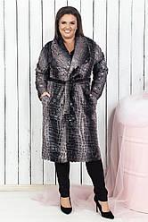 Женское пальто Питон 03960