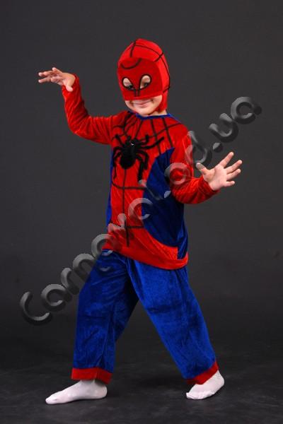 Прокат карнавальный костюм человек паук
