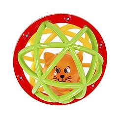 Погремушка-шарик - Шустрый котенок Kiddieland 049858
